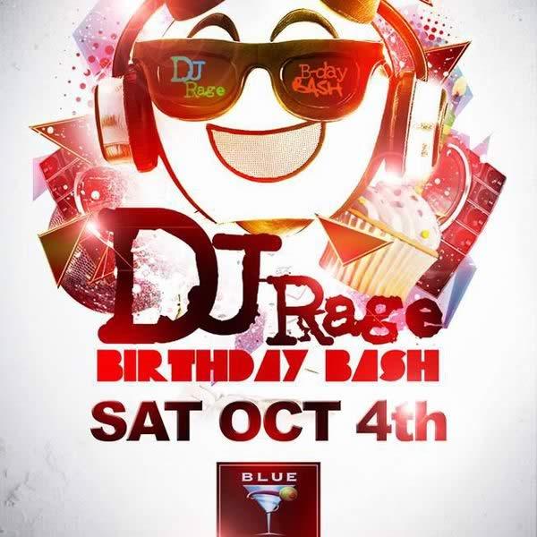 DJ Rage Birthday Bask Live Recording