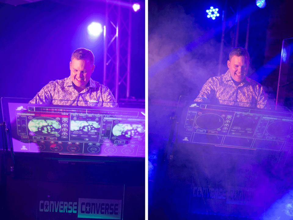 DJ rage holiday parties